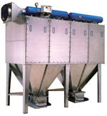 Suitable for the capture and filtration of dry dusts and fumes