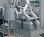 FS Filter is suitable for larger industrial plants with hot gas applications.